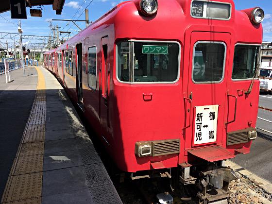 名鉄_名鉄広見線_新可児駅にて2018