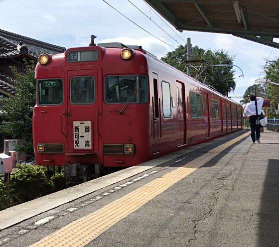 名鉄_名鉄広見線_御嵩駅より帰路2018