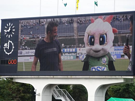 FC岐阜_デル・ピエロ氏とギッフィー2018_03