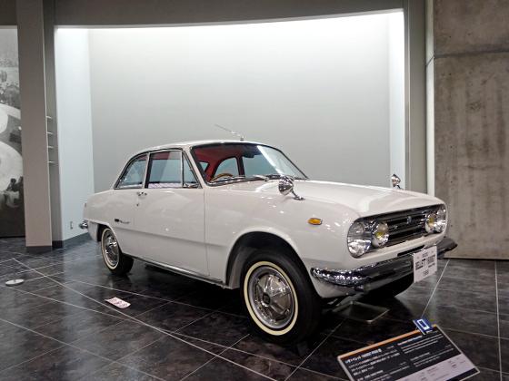 トヨタ博物館2018_いすゞベレット1600GT_01