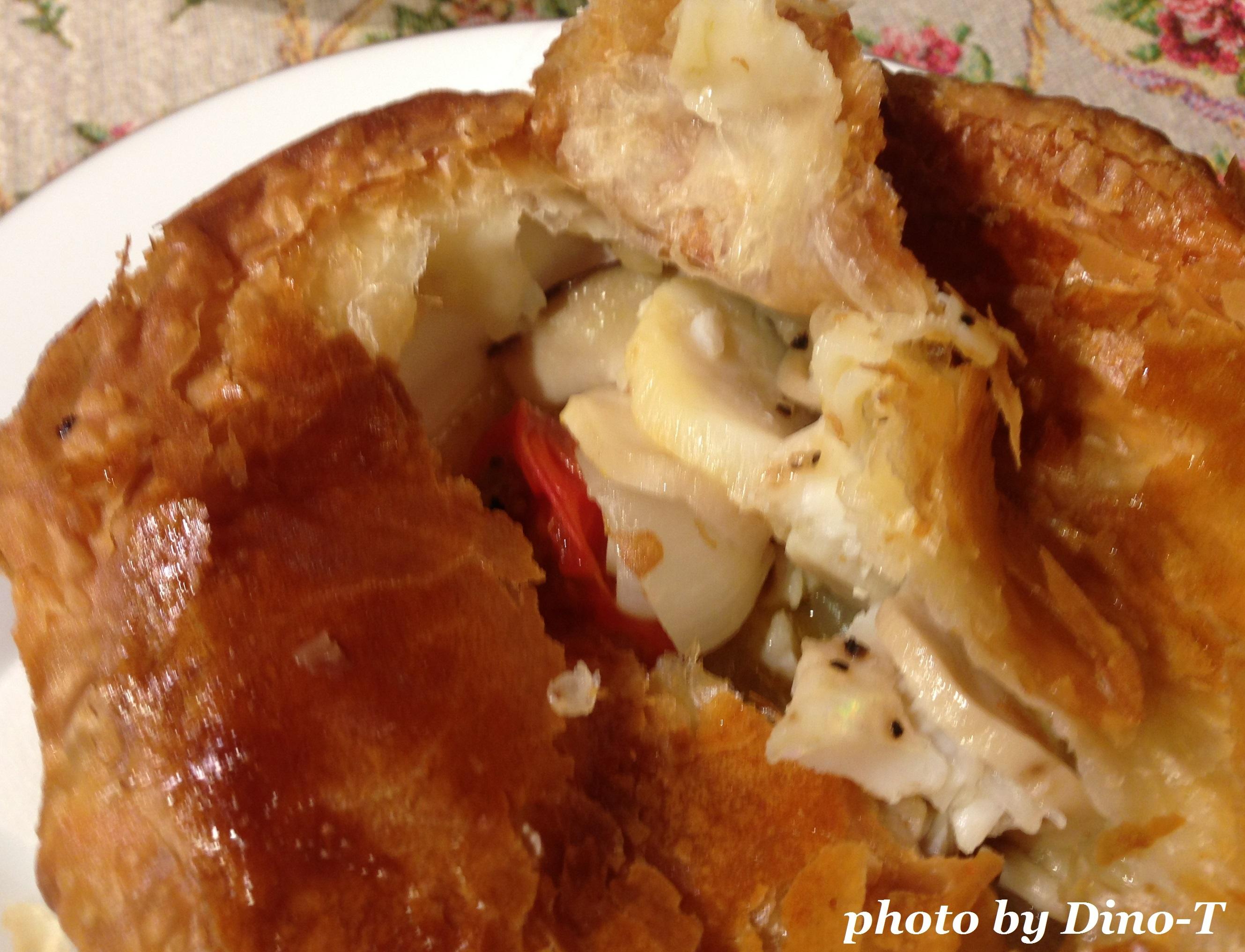 アクアパッツァのパイ包み焼き2