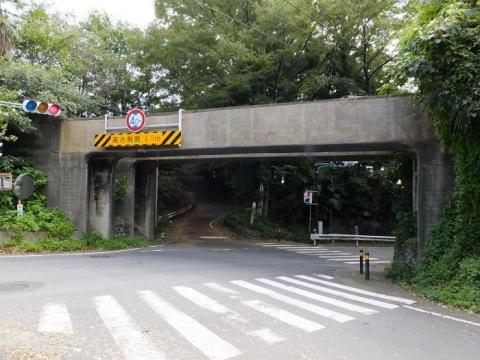 中津飛行場の遺構・排水路橋
