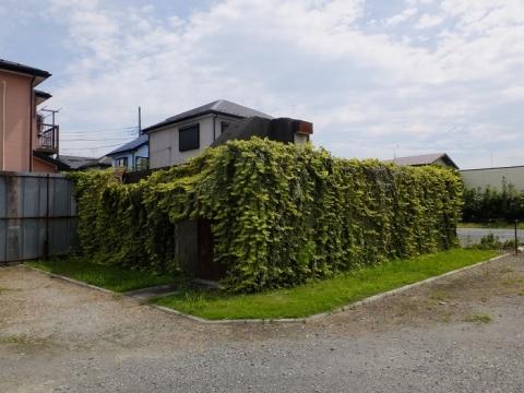 中津飛行場の遺構・通信室