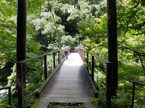 鳩ノ巣渓谷の吊り橋・鳩ノ巣小橋