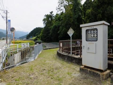 富山県魚津市・貝田新円筒分水