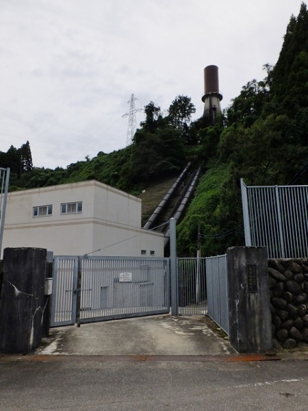北陸電力片貝谷発電所
