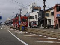高岡市・万葉線の路面電車