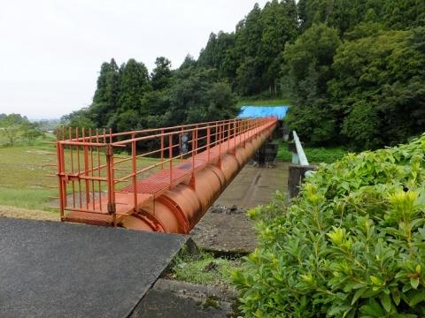 赤祖父川水管橋