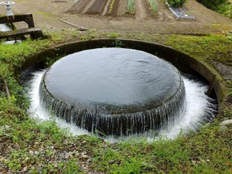 赤祖父円筒分水槽・富山県南砺市