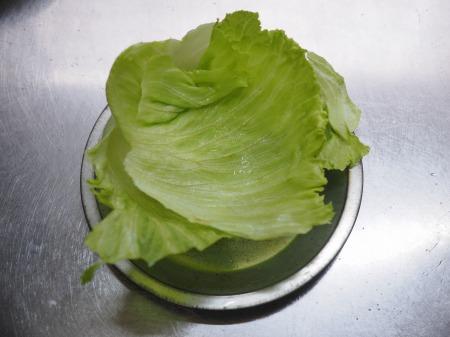明太レタスチャーハン001