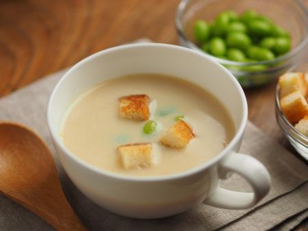 冷製豆乳クリームスープ、ラー012