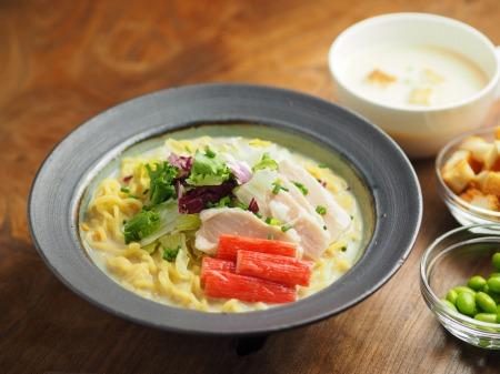 冷製豆乳クリームスープ、ラー036