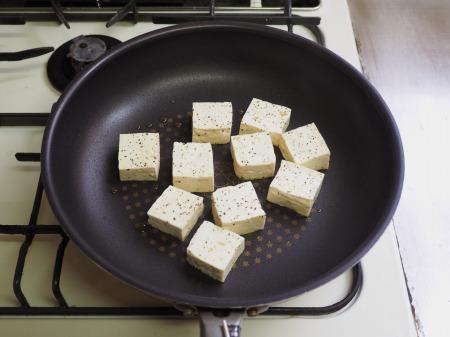 カレー豆腐ステーキ037
