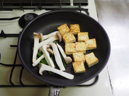 カレー豆腐ステーキ043