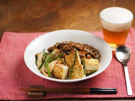 カレー豆腐ステーキ002