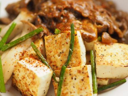 カレー豆腐ステーキ017