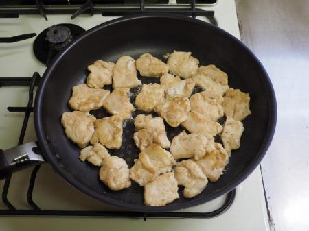 鶏むね肉の照焼き丼047
