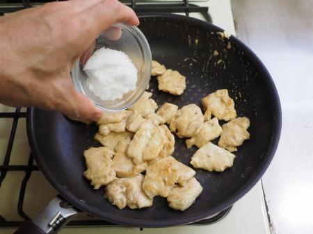 鶏むね肉の照焼き丼049