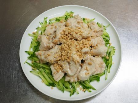 鶏むね肉の水晶鶏ピリ辛ドレ063