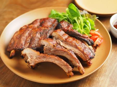豚バックリブの柔らかオーブン焼029