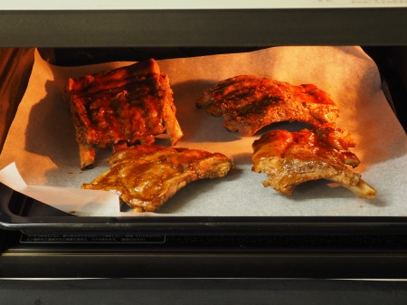 豚バックリブの柔らかオーブン焼075