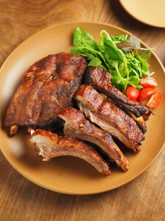 豚バックリブの柔らかオーブン焼043
