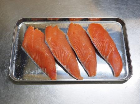 鮭とあさりのフライパン酒蒸し032
