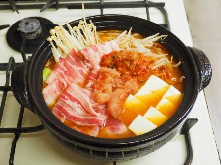 明太豚キムチ鍋072