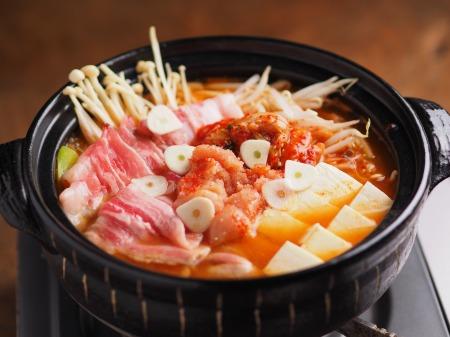 明太豚キムチ鍋001