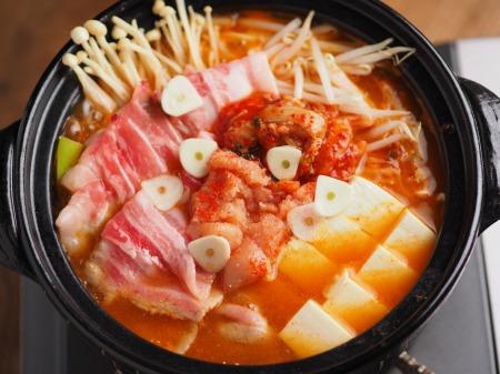 明太豚キムチ鍋005