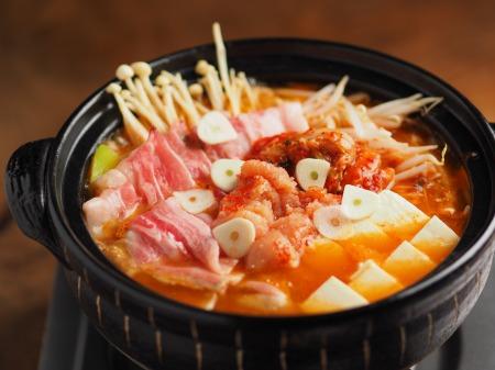 明太豚キムチ鍋008