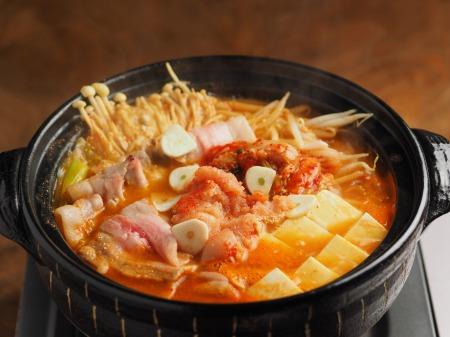 明太豚キムチ鍋044