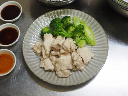 鶏むね肉の水晶鶏030