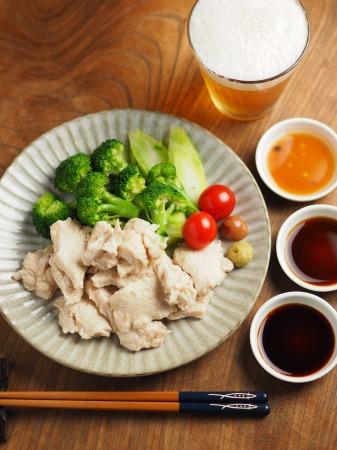 鶏むね肉の水晶鶏040