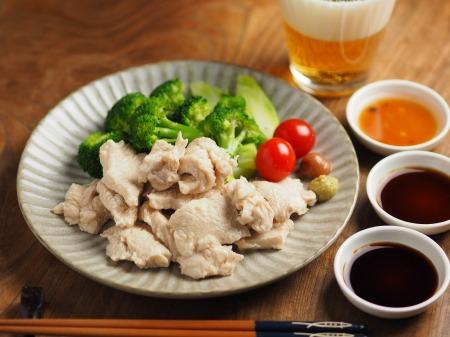 鶏むね肉の水晶鶏033