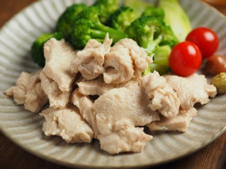 鶏むね肉の水晶鶏046