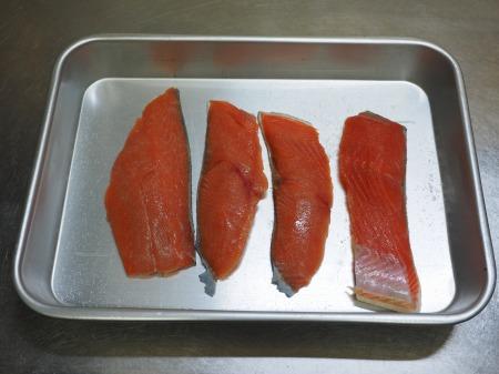 秋鮭とキノコのフライパン酒蒸034