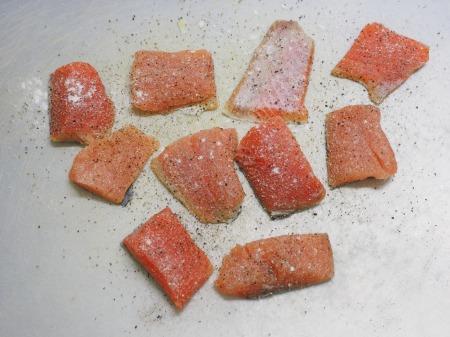 秋鮭のじゃがいも包み焼き046