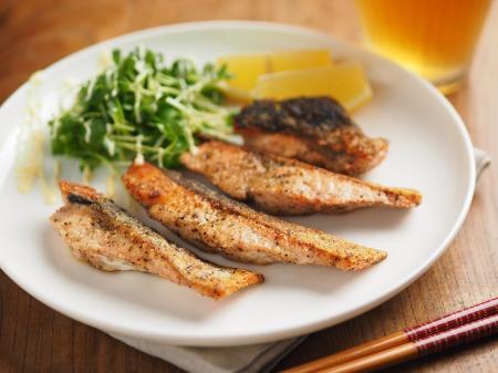 秋鮭のチーズ焼き015