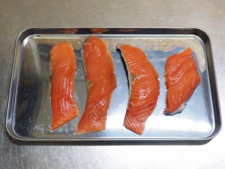 秋鮭のチーズ焼き022