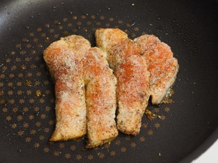 秋鮭のチーズ焼き030