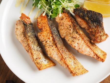 秋鮭のチーズ焼き008