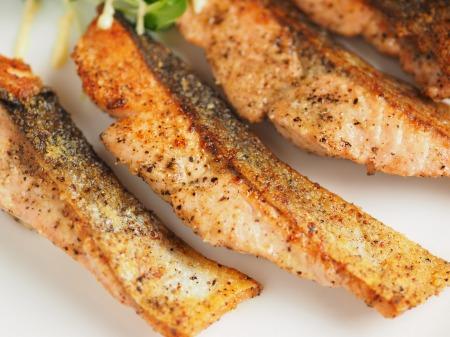 秋鮭のチーズ焼き021
