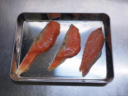 秋鮭のバター照り焼き028