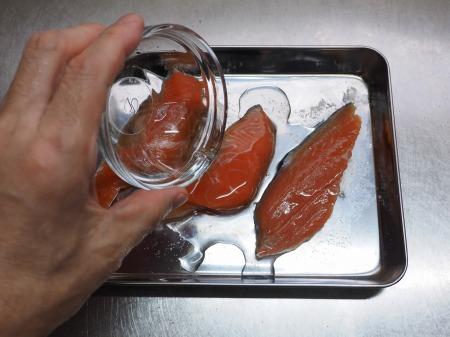 秋鮭のバター照り焼き029