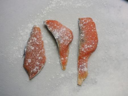 秋鮭のバター照り焼き033