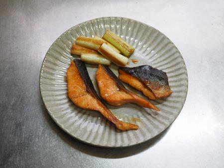 秋鮭のバター照り焼き053