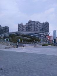 DSC_3680香港西九龍駅外観