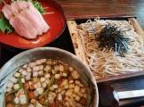 鴨のつけ蕎麦