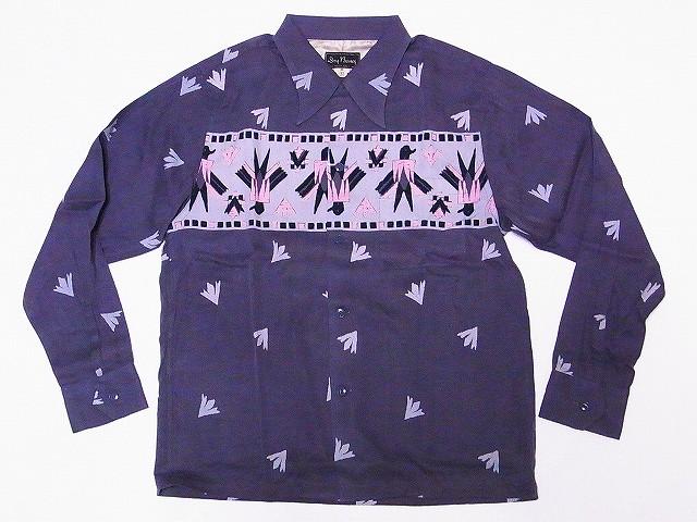 ドライボーンズ オープンカラーシャツ DS-2448 THUNDERBIRD